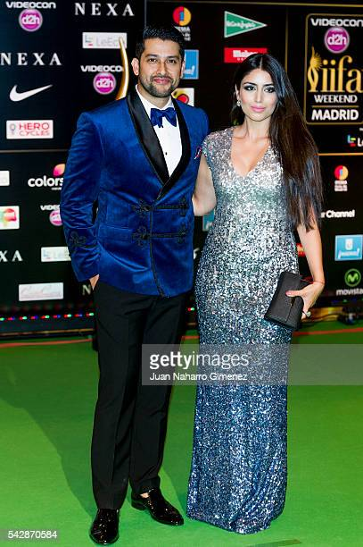 Aftab Shivdasani attends IIFA Awards 2016 Rocks Green Carpet at Ifema on June 24 2016 in Madrid Spain