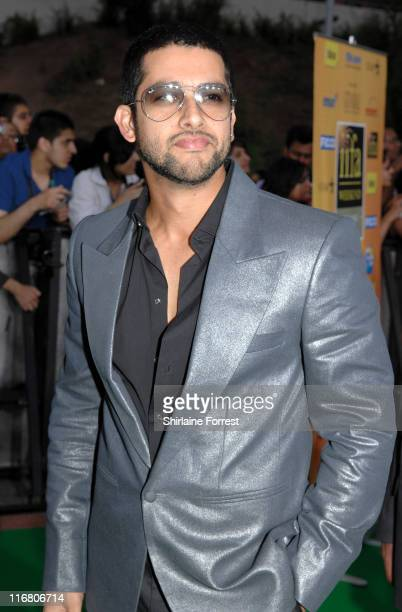 Aftab Shivdasani during Indian International Film Awards Green Carpet at Sheffield Hallam FM Arena in Sheffield Great Britain