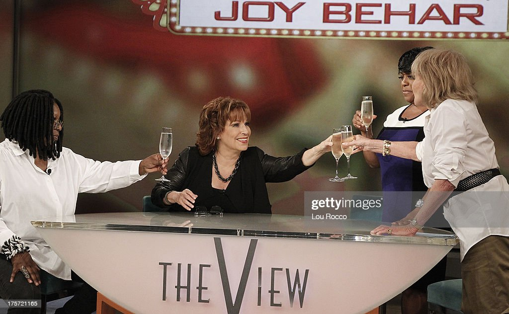 THE VIEW - After 16 unforgettable years on ABCs 'The View,' original co-host Joy Behar bids the show and current hosts Whoopi, Sherri and Barbara farewell, but not until she takes a stroll down memory lane for 'This Was Your Life on 'The View' Joy Behar,' Friday, August 9, 2013. 'The View' airs Monday-Friday (11:00 am-12:00 noon, ET) on the ABC Television Network. WALTERS