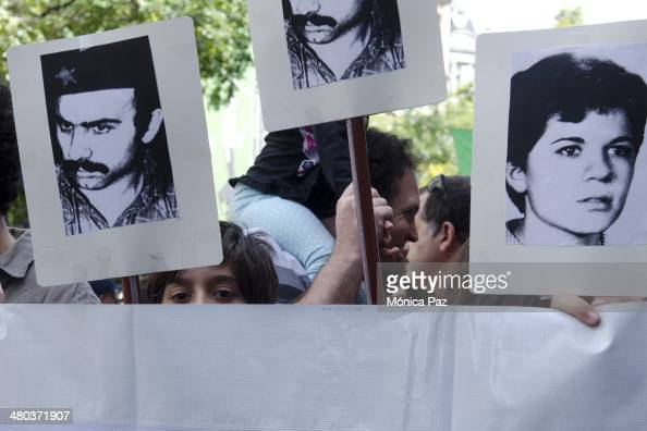 After 38 years of Argentina's last putsch and celebrating 30 years of democratic government people are still trying to find missing relatives during...