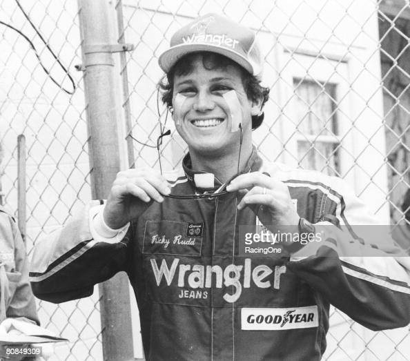 After a terrifying spill during the 1984 Busch Clash at Daytona forcing Ricky Rudd to compete in the 500 with his swollen eyes literally taped open...