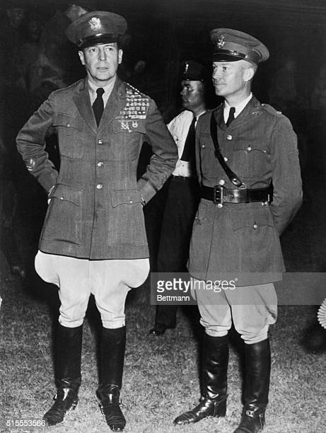 After his troops had ousted the Bonus Army from its Anacostia Flats camp General Douglas MacArthur then Chief of Staff During the 1932 'operation'...