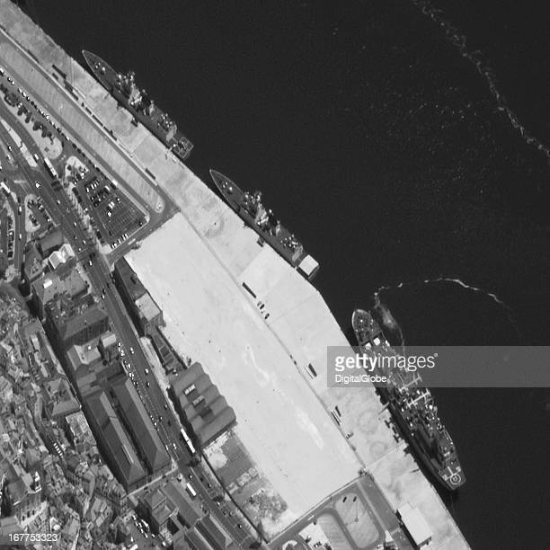 After its visit to Morocco the task force sailed to Portugal Imagery from April 16 a day after its reported arrival shows the vessels near the Lisbon...