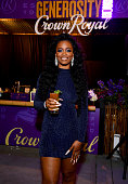 Ari Lennox Performs At A Crown Royal Generosity Hour To...