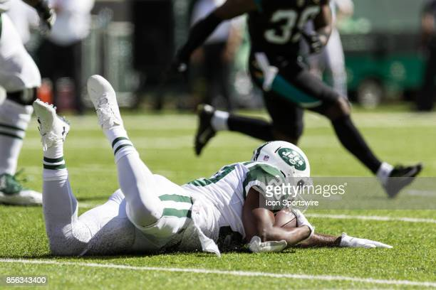 After New York Jets Running Back Bilal Powell hurdles over Jacksonville Jaguars Linebacker Telvin Smith untouched Powell runs in for a 75 yard...