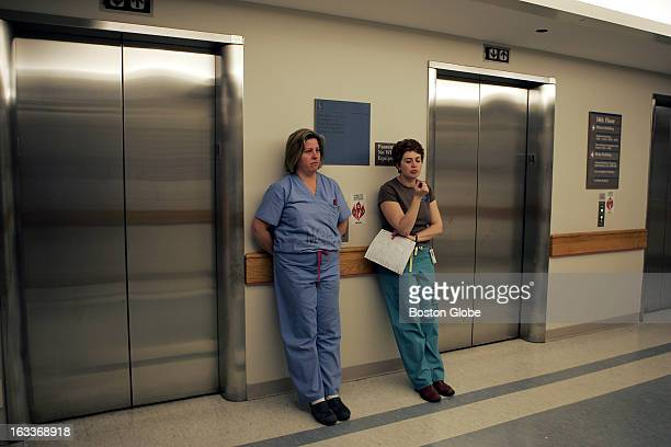 After successfully transferring a patient from the surgical intensive care unit to another floor of the hospital MJ Pender left and Julia Zelixon...