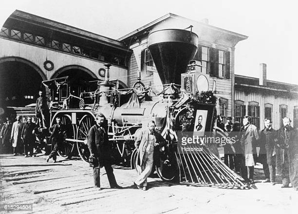 After the assassination of President Abraham Lincoln on April 14 the President's body was placed on a train and carried across the country to...