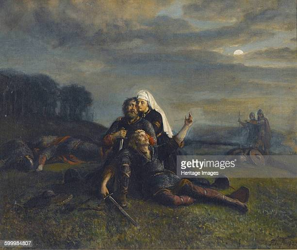 After the Battle Private Collection Artist Arbo Peter Nicolai