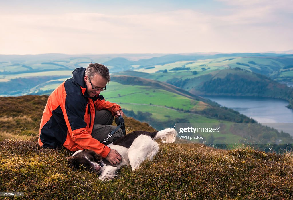 After the climb : Stock Photo