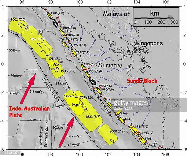 After the earthquake in South East Asia researchers of the global physics institute 'Institut de physique du globe' in Paris study the phenomenon in...