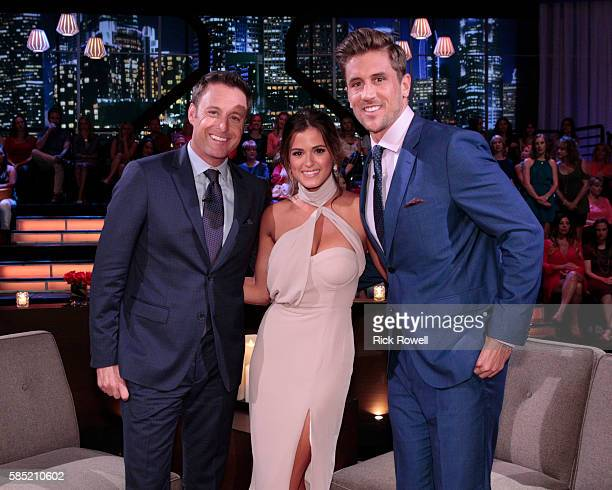 THE BACHELORETTE 'After the Final Rose' Emotions run high as JoJo sits down with Chris Harrison live to talk about her two final bachelors from this...