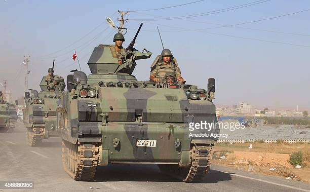 After the howitzer shell fired from Syria where the clashes between Islamic State of Iraq and Levant and Kurdish armed troops continue into Turkey...