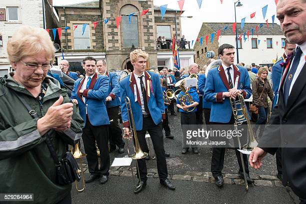 After the riding there is a parade and town celebration for the Selkirk Common Riding event on June 13th 2014 The event a celebration of ancient...