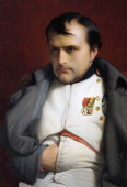 After The Work Napoleon In Fontainebleau By Hippolyte Delaroche