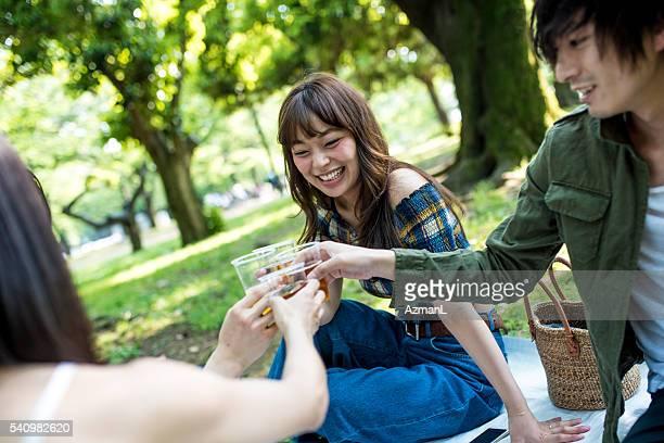お仕事の後のピクニック