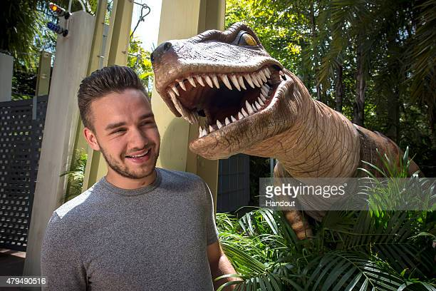 After wrapping up the first leg of One Direction's European Tour Liam Payne enjoyed a family vacation at Universal Orlando Resort During his visit on...