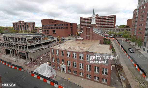 After years of planning Malden MA is tearing down its old city hall complex and reconnecting its downtown area to the Malden Center T stop and...