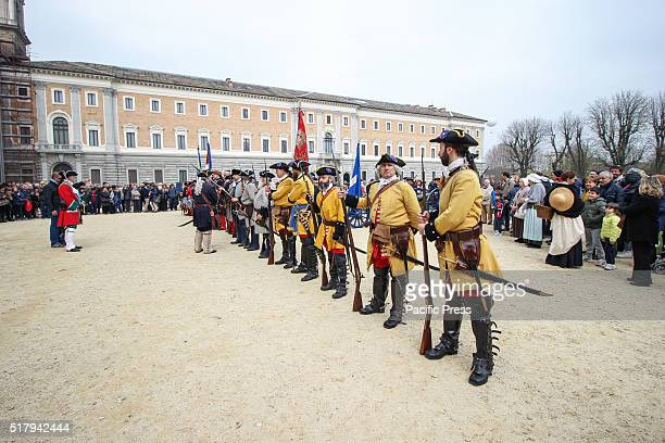 After years of waiting the Giardini Reali were opened to the public with a ceremony on Easter Monday in period costumes pageants and shots of rifle...