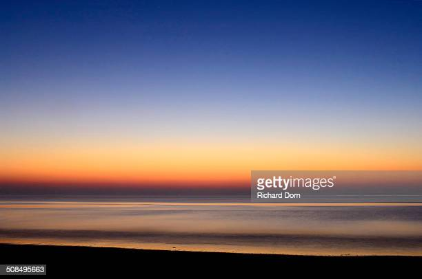 Afterglow, North Sea, Texel, The Netherlands