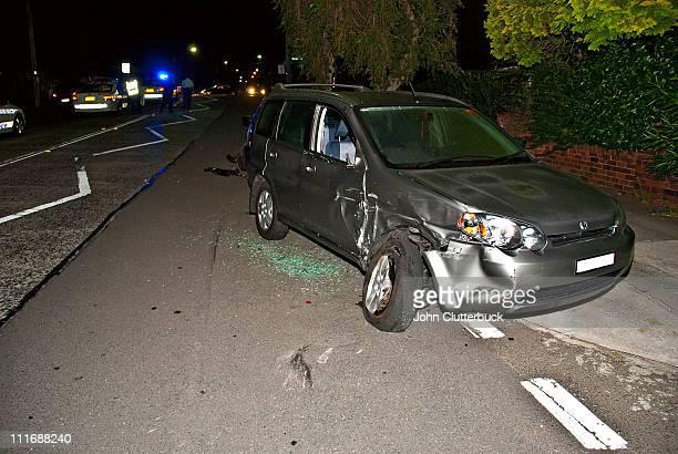 Aftermath of highspeed crash Sydney inner west