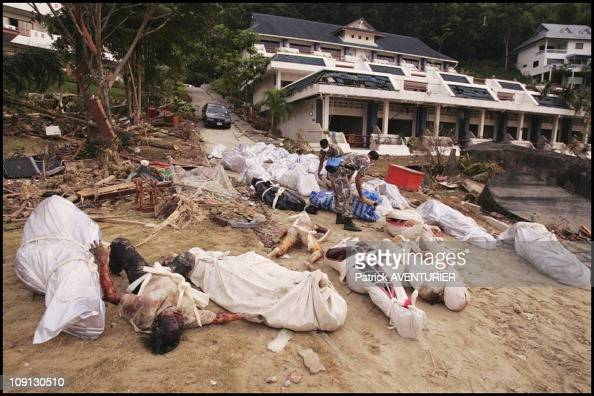 Aftermath Of The Tsunami That Hit The Khao Lak Bay Thailand On