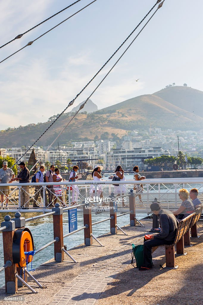 Afternoon activity at V&A Waterfront