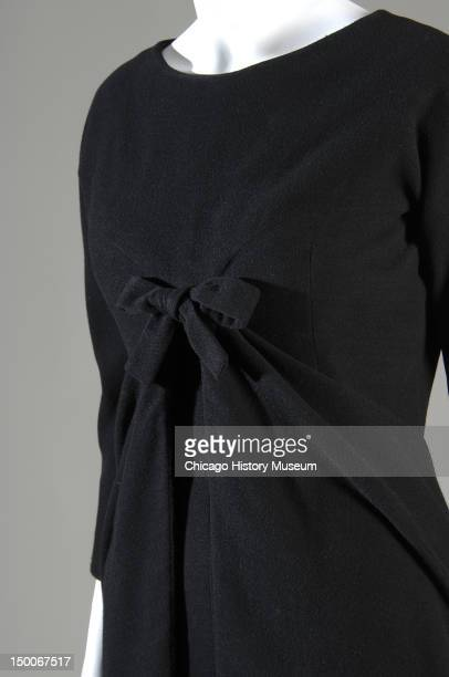 Afternoon dress 1948 Wool melton by Cristobal Balenciaga