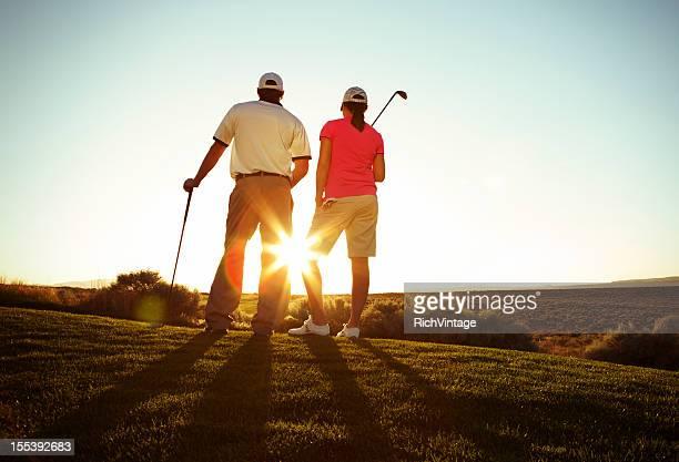 午後のゴルフ
