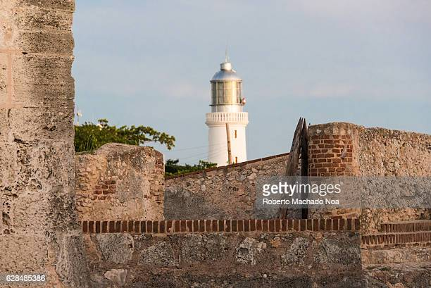 Afternoon sunset at the San Pedro of the Rock Castle or El Morro de Santiago de Cuba The fortress was declared a World Heritage Site by UNESCO in...
