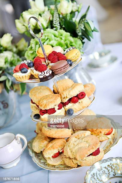 Afternoon wedding tea cakes