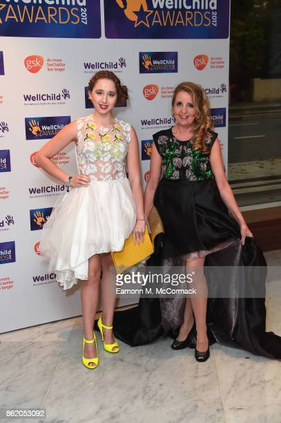Gillian McKeith attends and guest attend the annual WellChild awards at Royal Lancaster Hotel on October 16 2017 in London England