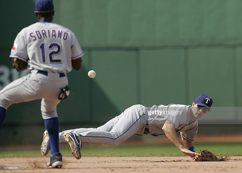 Texas Rangers vs Boston Red Sox - July 11, 2004