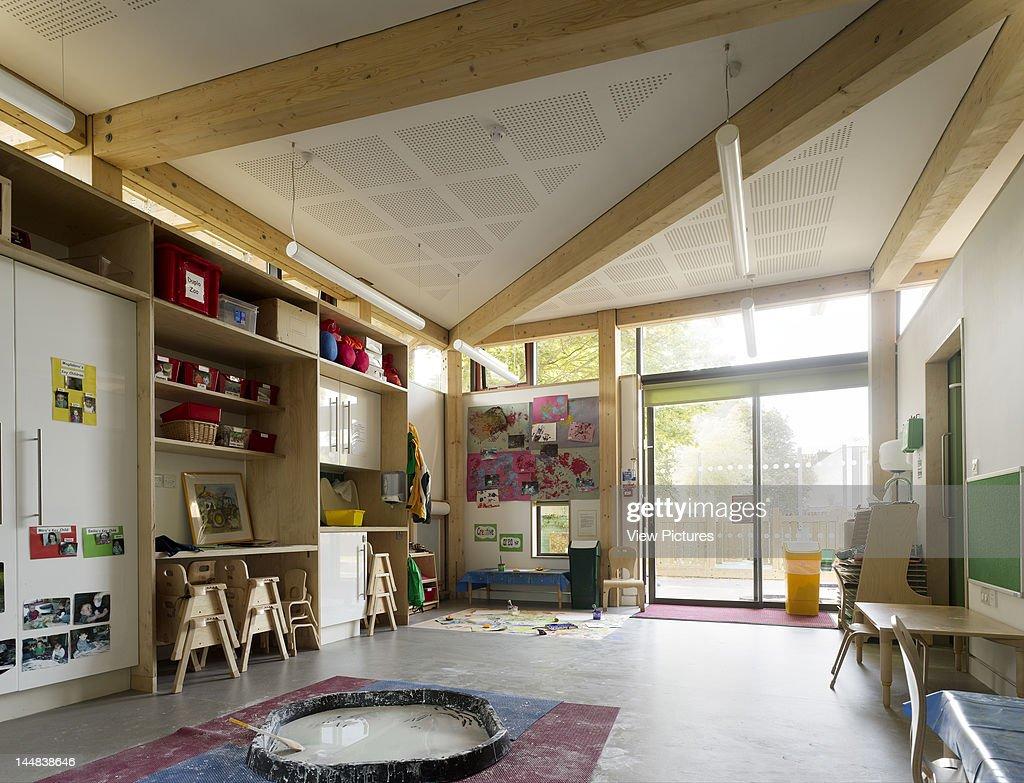 Agar Childrens Centre, Wrotham Road Agar Grove, London, Nw1, United Kingdom, Architect: Haverstock Associates Llp, 2009, Agar Children?S Centre London Haverstock Associates Kindergarten Interior Classroom