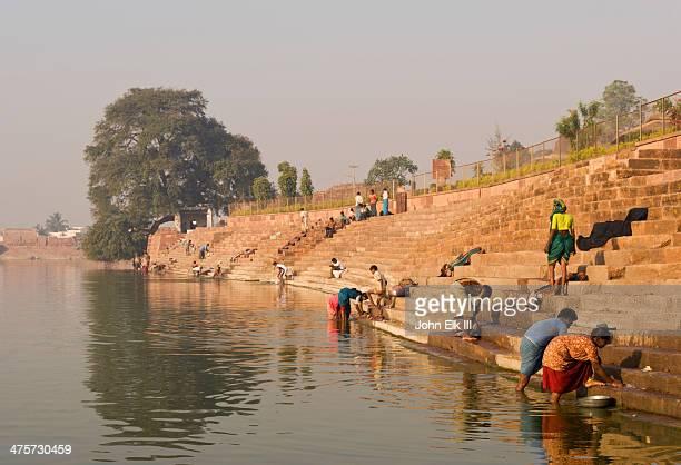 Agastyatirtha Tank and bathing ghats
