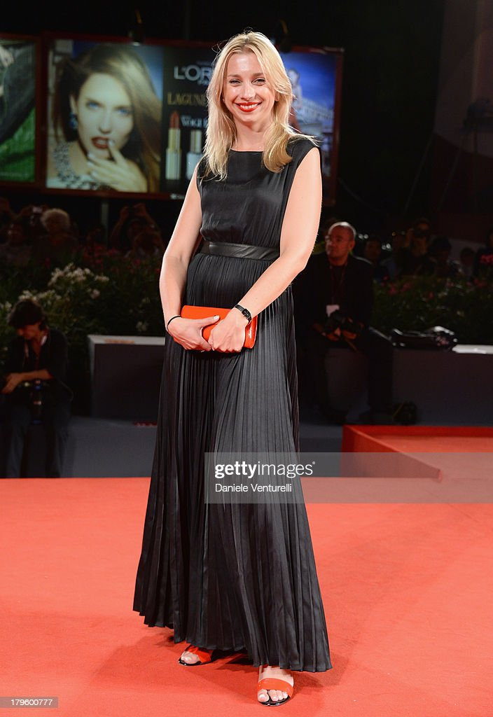 Agata Bobola attends 'Walesa. Man of Hope' Premiere And Premio Persol Ceremony during the 70th Venice International Film Festival at Sala Grande on September 5, 2013 in Venice, Italy.