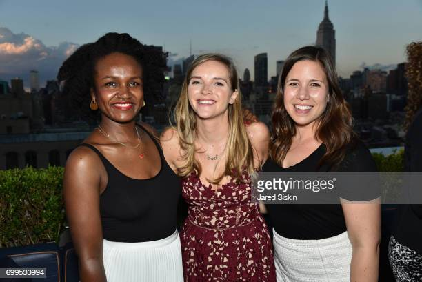 Agatha Paterson Ariana Kourides and Allie Lyarris attend The Junior Board of The TEAK Fellowship Presents A Midsummer Night at PhD Lounge at the...