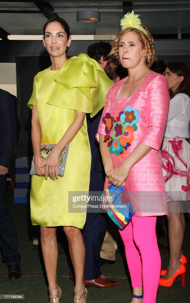 agatha ruiz de la prada r and eugenia silva l receive acotex