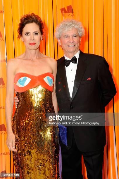 Agatha Ruiz de la Prada and Tony Bechara attends the El Museo Gala 2017 at The Plaza Hotel on May 11 2017 in New York City