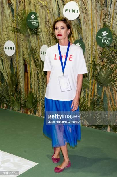Agatha Ruiz de la Prada attends 'NV' fashion show during FIMI at Pabellon de Cristal on June 23 2017 in Madrid Spain