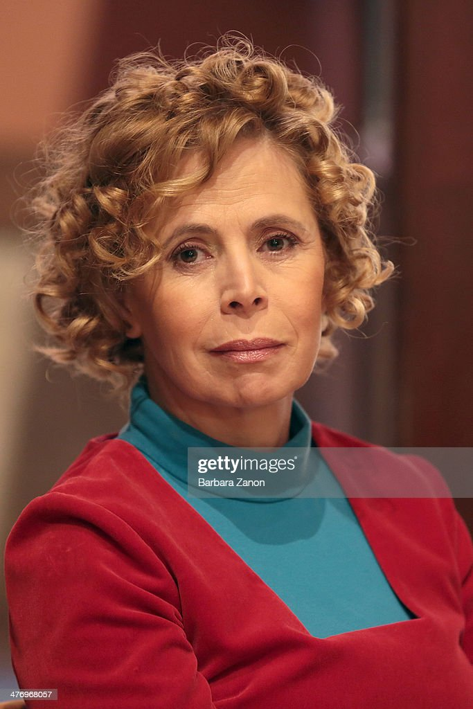 Agatha Ruiz de La Prada attends the opening of 'DoVe' Donne a Venezia at Palazzo Mocenigo on March 6, 2014 in Venice, Italy.
