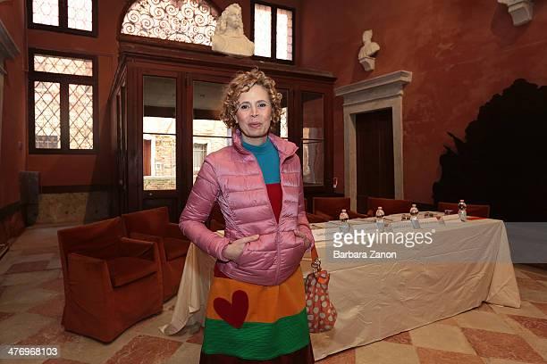 Agatha Ruiz de La Prada attends the opening of 'DoVe' Donne a Venezia at Palazzo Mocenigo on March 6 2014 in Venice Italy