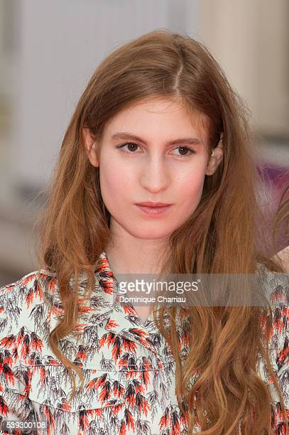 Agathe Bonitzer attends the 30th Cabourg Film Festival Day Three on June 10 2016 in Cabourg France