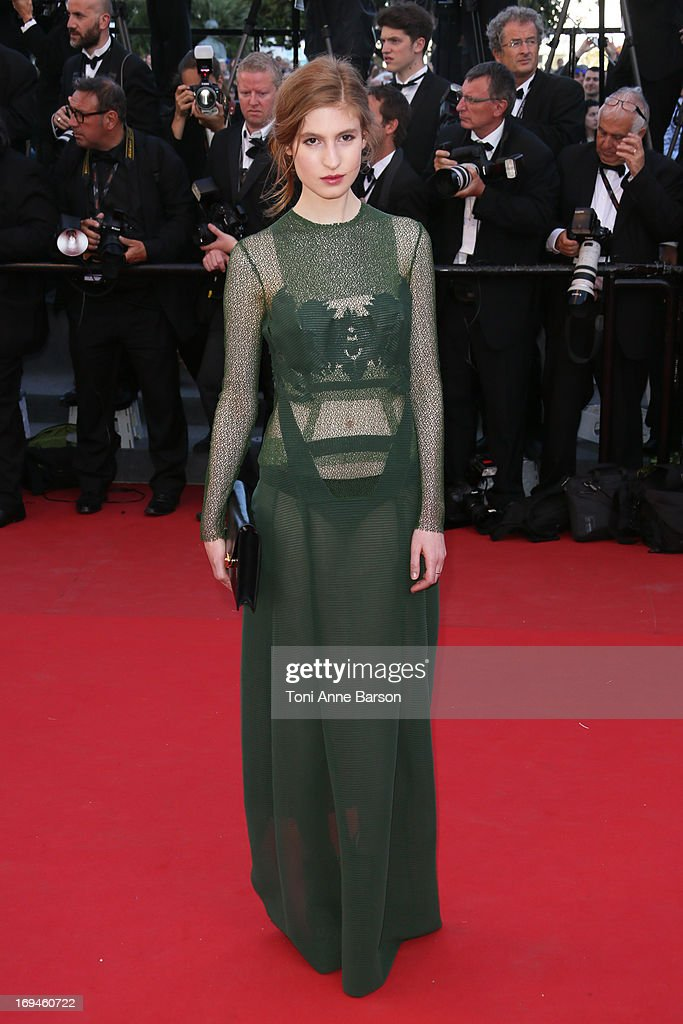 Agathe Bonitzer attends the premiere of 'The Immigrant' at The 66th Annual Cannes Film Festival on May 24, 2013 in Cannes, France.