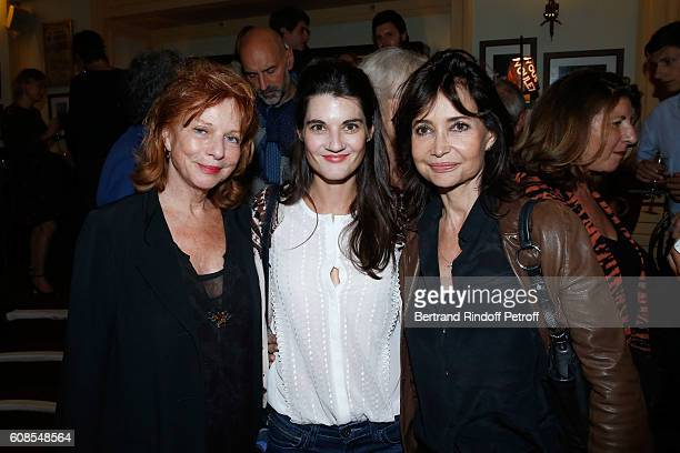 Agathe Natanson Rachelle Arditi and Evelyne Bouix attend the 'Tout ce que vous voulez' Theater Play at Theatre Edouard VII on September 19 2016 in...