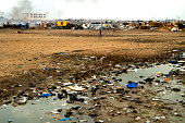 Agbogbloshie is located in Accra, capital of Ghana . Is the world's largest e-waste dump.
