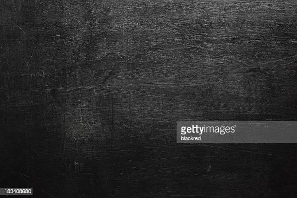 Aged blank blackboard