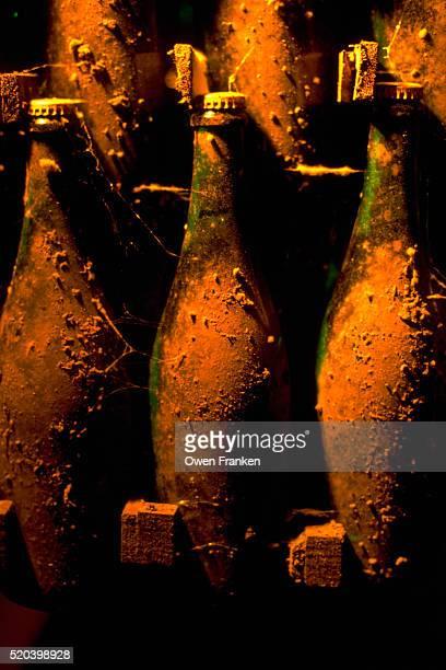 Aged Bottles of Sparkling Wine