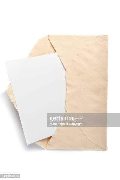 Aged envelope