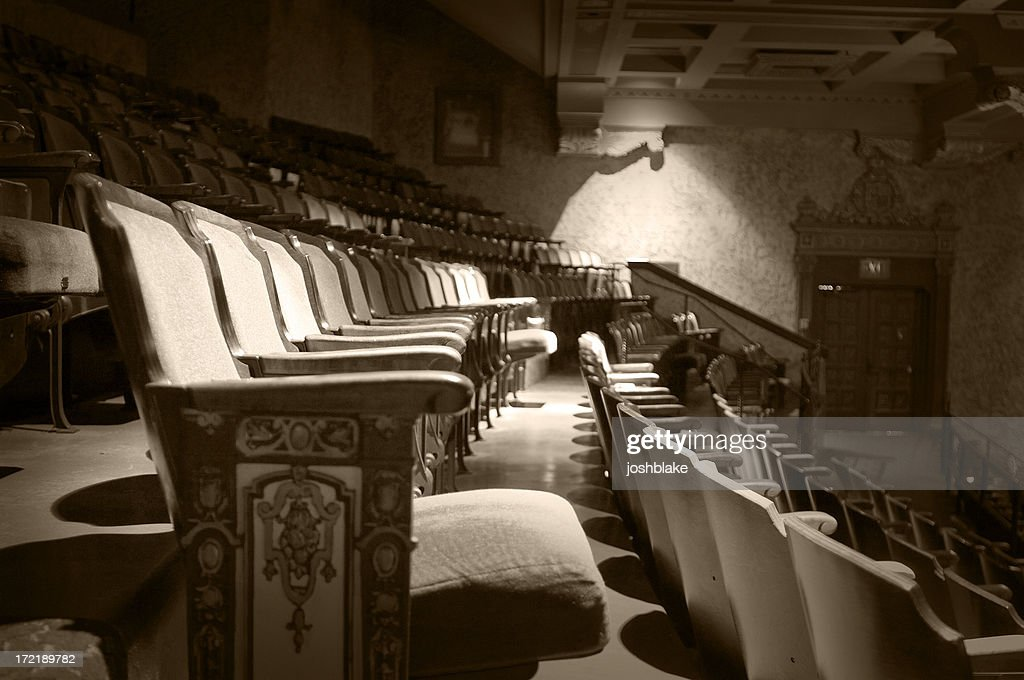 aged seats : Stock Photo
