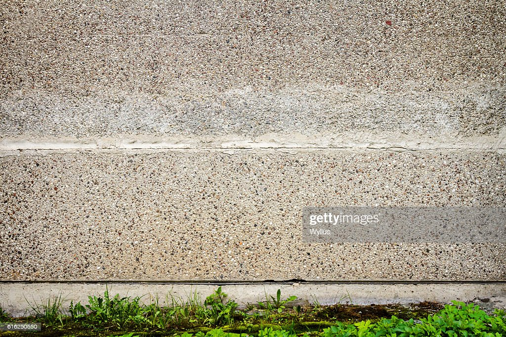 Aged street wall : Stock Photo